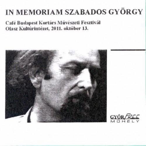 In Memoriam György Szabados CD Cover